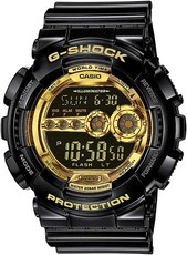 Casio G-Shock Original GD-100GB-1ER Black & Gold Special Edition
