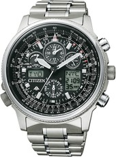Citizen Promaster Sky Pilot Global Eco-Drive Radiocontrolled JY8020-52E