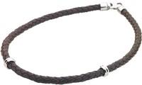 Pánský kožený náhrdelník Storm Topanga Necklace Brown 4e36d6a7791