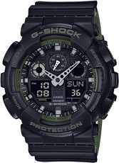 Casio G-Shock Original GA-100L-1AER Layered Band Military Color Special Edition