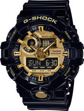 Casio G-Shock Original GA-710GB-1AER Black & Gold Special Edition