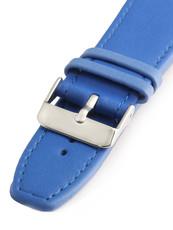 ea297995c Dámský kožený modrý řemínek k hodinkám W-309-J4