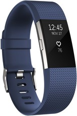 Fitbit Charge 2 Blue Silver - Small FB407SBUS-EU