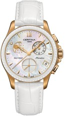 Certina DS First Lady Quartz Precidrive Chronograph Moon Phase C030.250.36.106.00