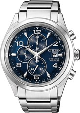 Citizen Sports Eco-Drive Chronograph Super Titanium CA0650-82L