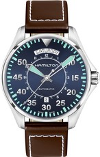 Hamilton Khaki Aviation Pilot Day Date Auto H64615545