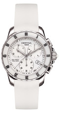Certina DS First Lady Ceramic Quartz Precidrive COSC Chronograph C014.217.17.011.00