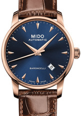 Mido Baroncelli II Midnight Blue Automatic M8600.3.15.8