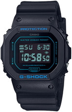 Casio G-Shock Original DW-5600BBM-1ER Matte Black & Blue Series