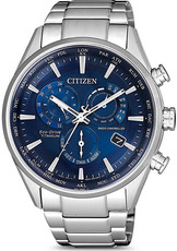 Citizen Sports Eco-Drive Radio Controlled Chronograph Super Titanium CB5020-87L