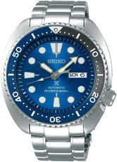 "Seiko Prospex Sea Automatic Diver's SRPD21K1 Save the Ocean Great White Shark Special Edition ""Turtle"""