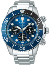 Seiko Prospex Sea Solar Diver's Chronograph SSC741P1 Save the Ocean Great White Shark Special Edition