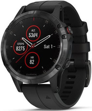 Garmin Fenix 5 Plus Sapphire Black, Black Band, Performer TRI Bundle (rozbalené)