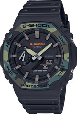 Casio G-Shock Original GA-2100SU-1AER Carbon Core Guard Utility Colors Series