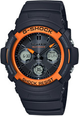 Casio G-Shock Original AWG-M100SF-1H4ER Fire Package 2020 Limited Edition