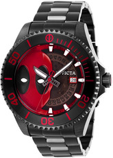 Invicta Marvel Automatic Skeleton 27153 Deadpool Limited Edition
