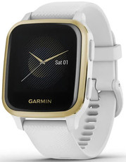 Garmin Garmin Venu Sq, LightGold/White Band