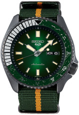 "Seiko 5 Sports Automatic SRPF73K1 Naruto & Boruto Limited Edition 6500pcs ""Rock Lee"""