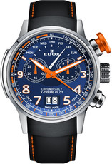 Edox Chronorally Quartz Chronograph 38001TINO-BUO3
