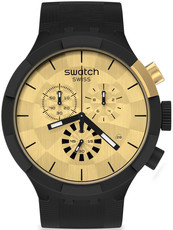 Swatch Checkpoint Golden Chronograph SB02Z400 Limited Edition 3000pcs