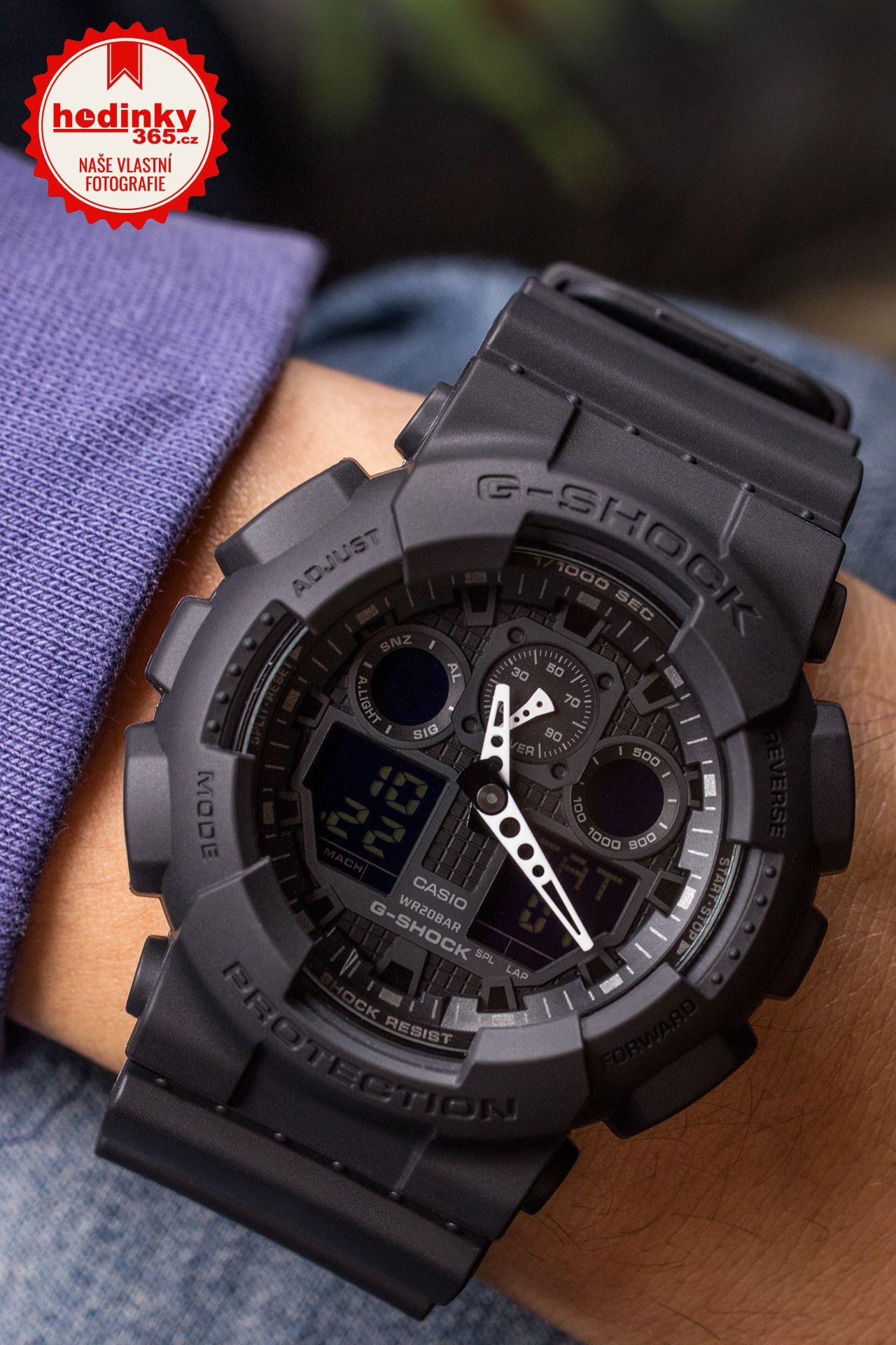 Casio G-Shock Original GA-100-1A1ER. Pánske hodinky - živicový remienok 6979f57c196