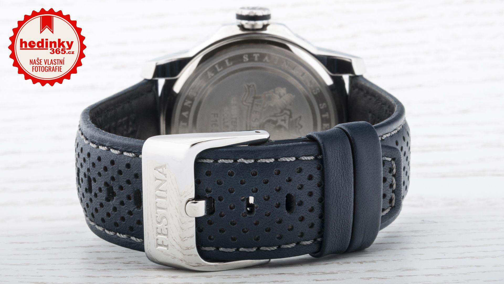 Festina Multifunction 16585 3. Pánske hodinky - kožený remienok 2e08772db3b