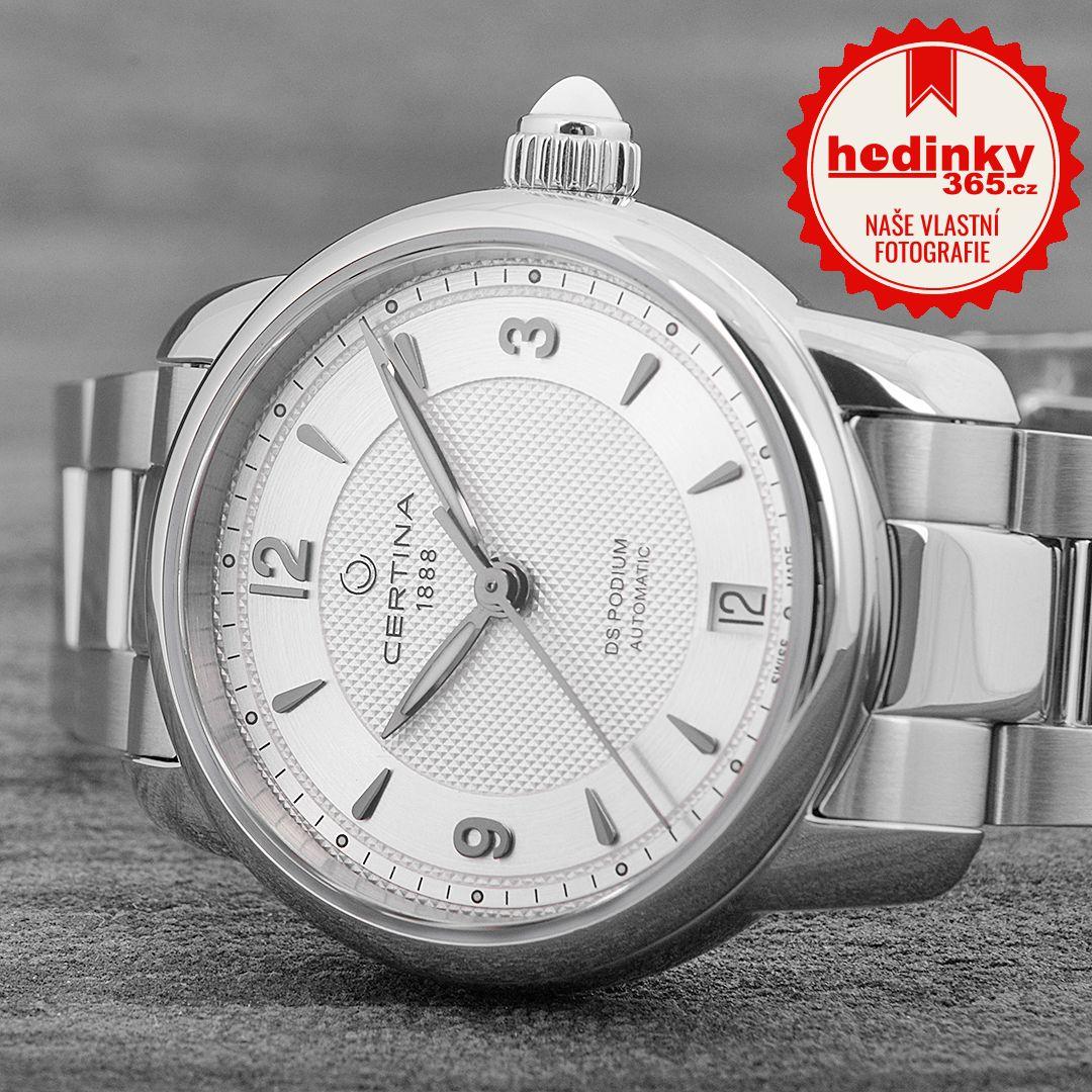 Certina DS Podium Lady Quartz C025.207.11.037.00. Dámske hodinky - ocelový  remienok 996b7883598