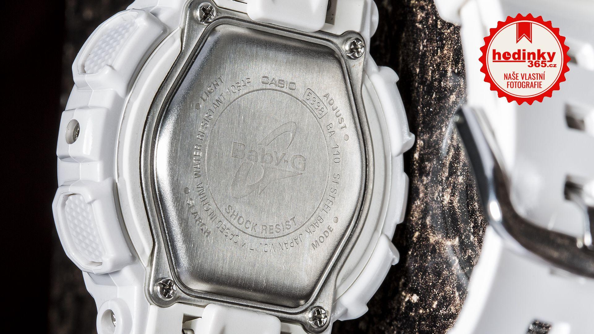 f918f79e1d6 Casio Baby-G BA-110-7A1ER. Dámske hodinky - živicový remienok