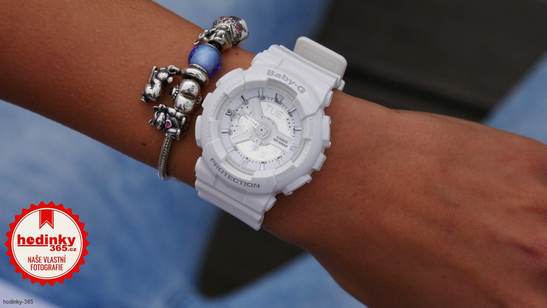 Casio Baby-G BA-110-7A3ER. Dámske hodinky - živicový remienok f2d8fe345b9