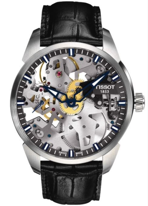 Tissot T-Complication Squelette Mechanical T070.405.16.411.00 ... 87e792f4795