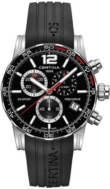 19a4d4aeb28 Certina DS Sport Chronograph 1 10 SEC C027.417.17.057.02