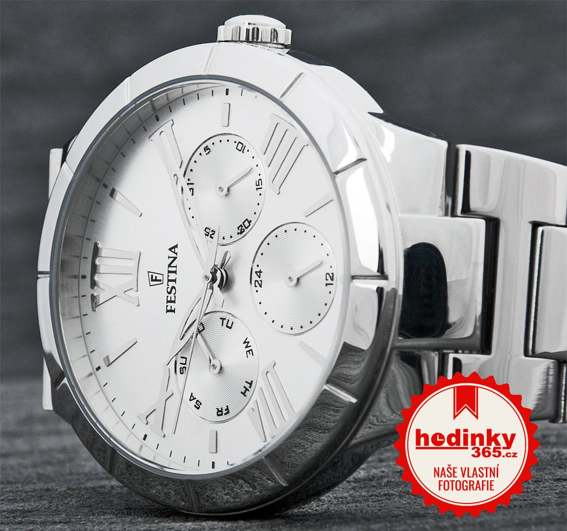 Festina Mademoiselle 16716 1. Dámske hodinky - ocelový remienok 4187bd27944