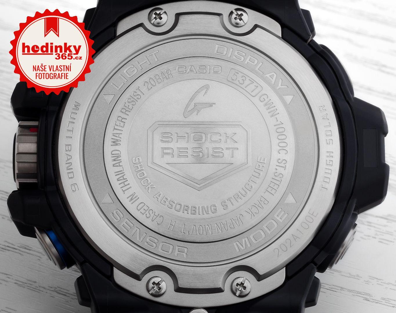 Casio G-Shock Gulfmaster GWN-1000C-1AER  44f3993bbd