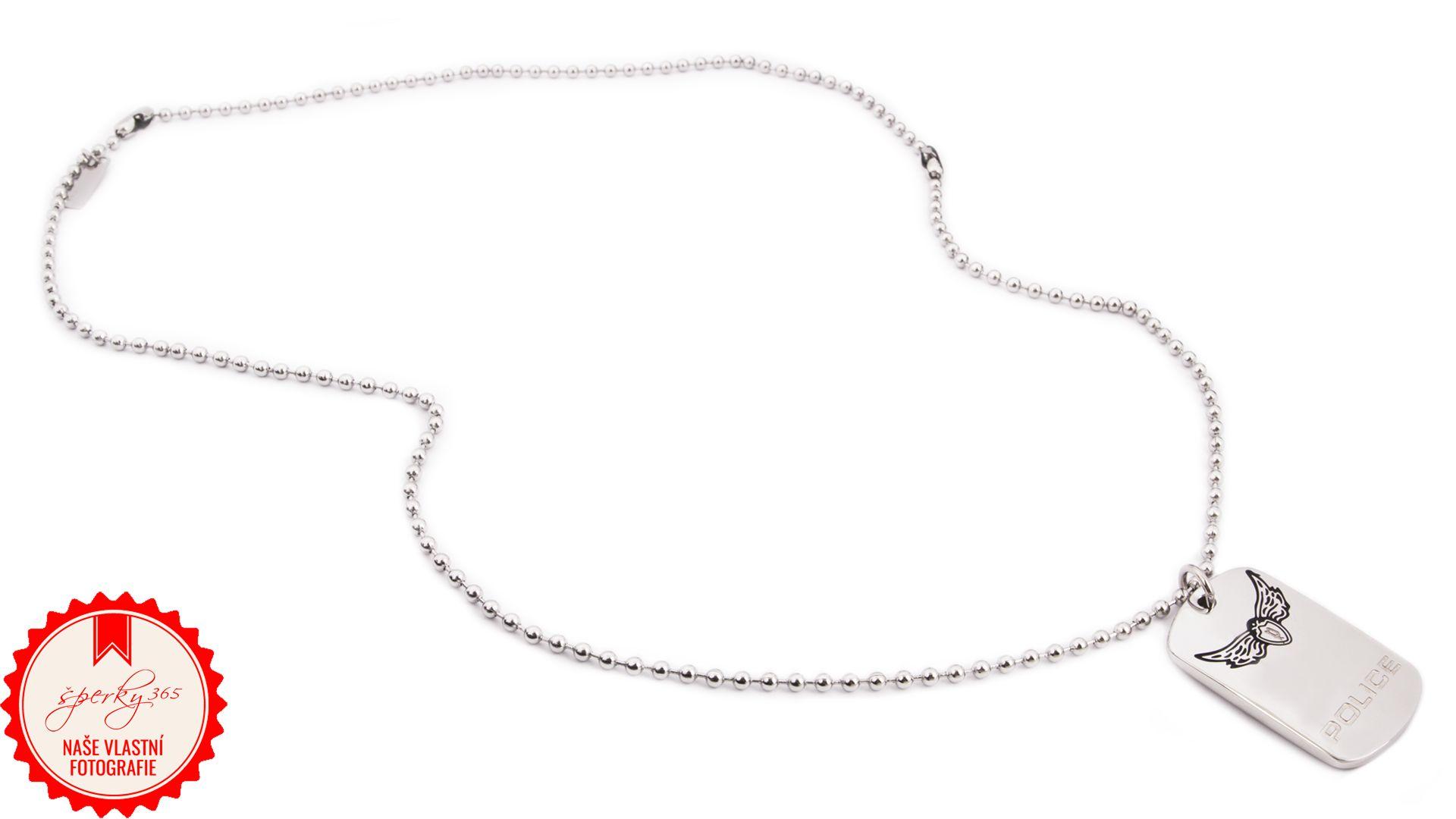 ... Pánský náhrdelník z chirurgické oceli Police PJ24229PSS 01. Foto   Nikola Liberdová 8df6d7c8531