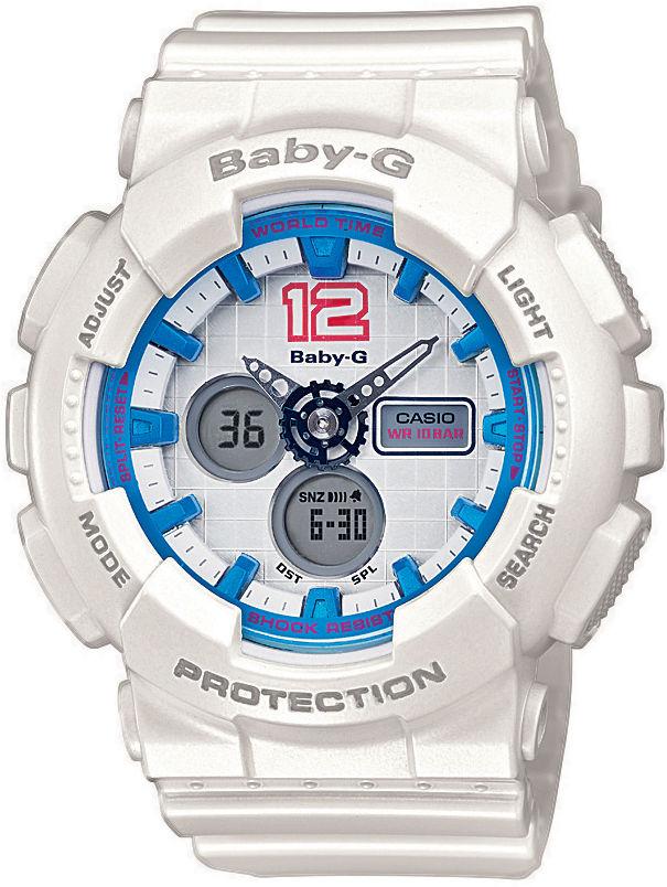 Casio Baby-G BA-120-7BER. Dámske hodinky - živicový remienok ab7b209f980