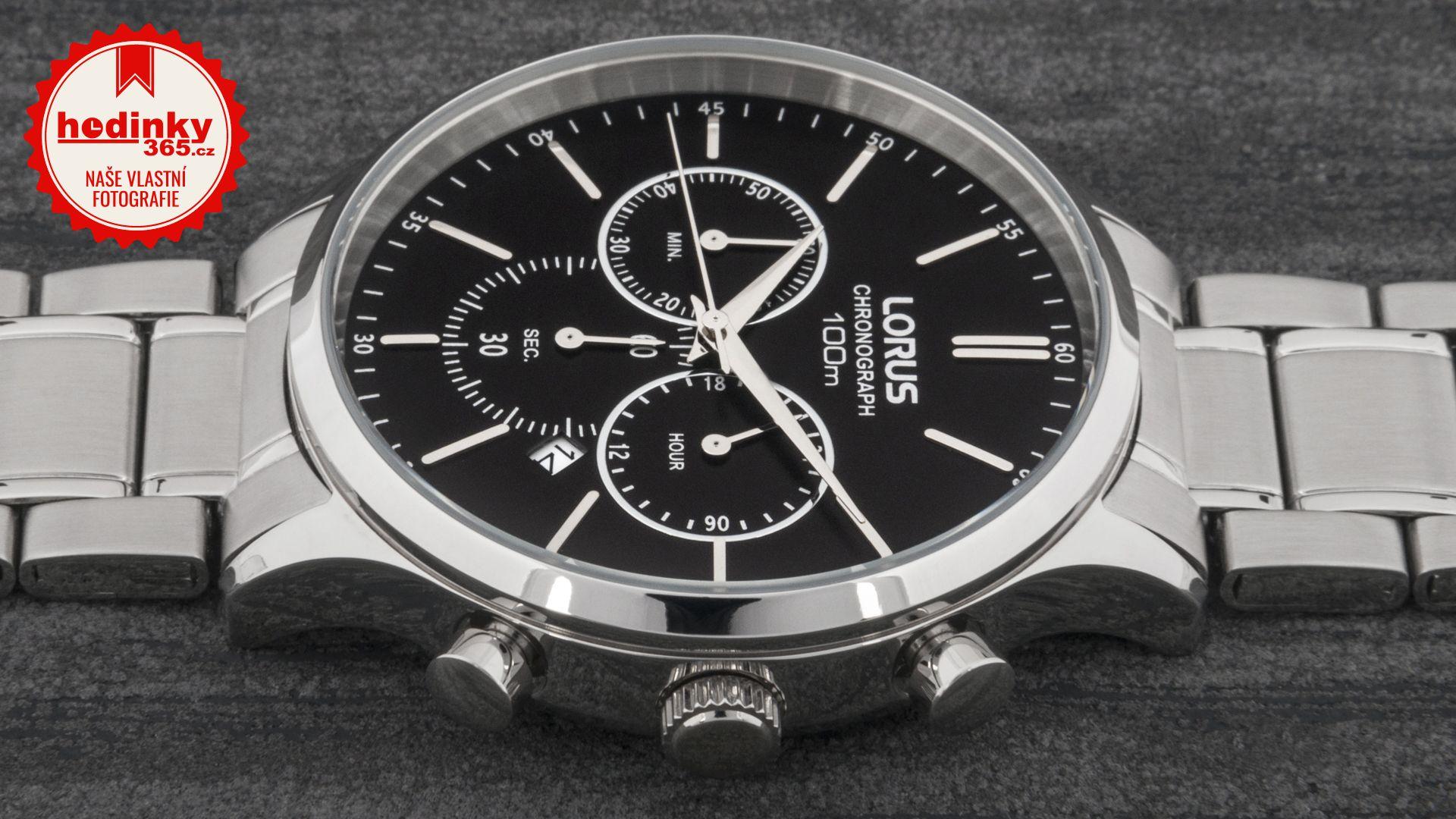 85c46c508 Pánske hodinky - ocelový remienok, ocel puzdro, minerálne sklíčko. Všetky  technické parametre nájdete nižšie