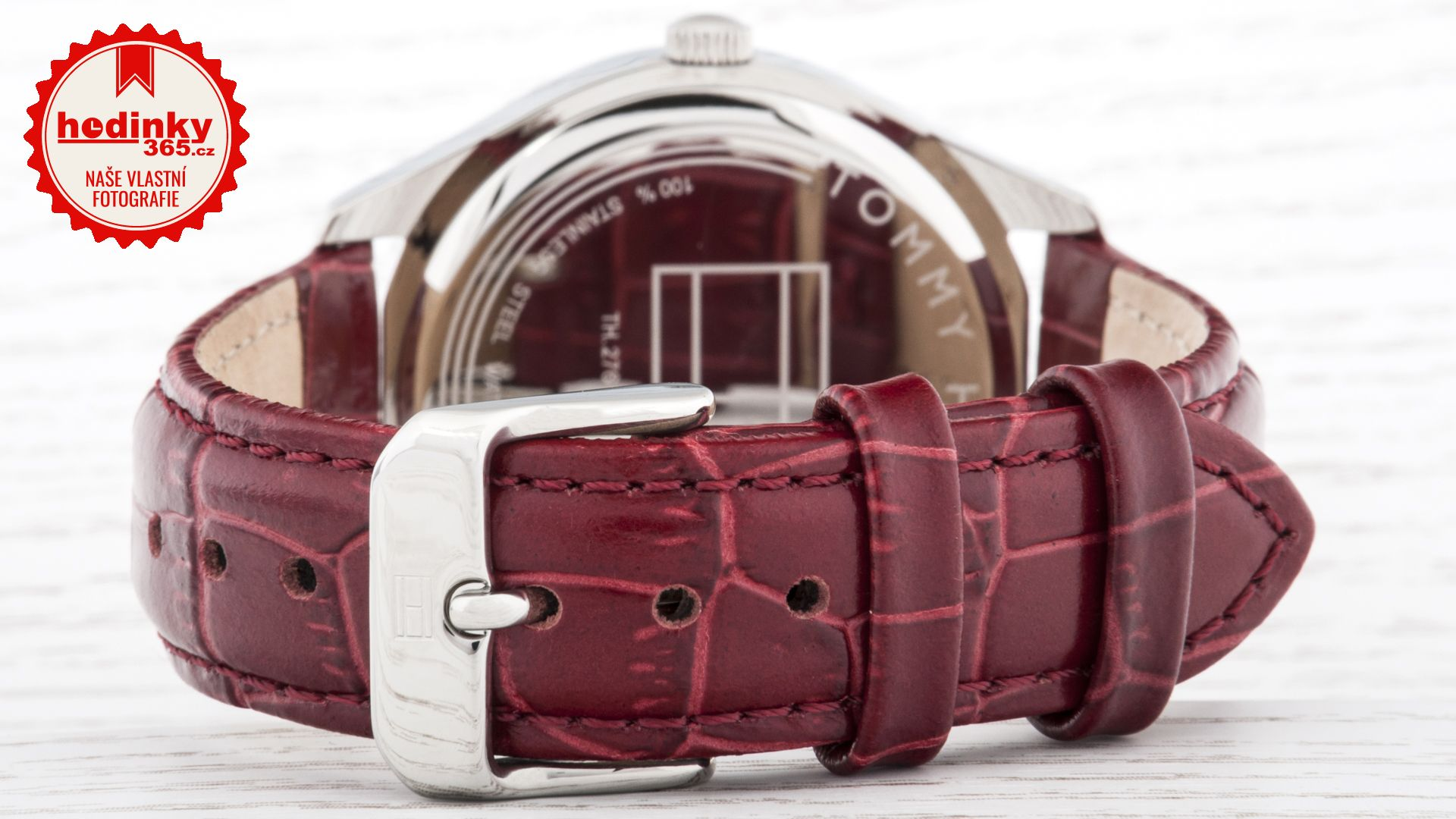 Tommy Hilfiger 1781574. Dámske hodinky - kožený remienok d534a74d353