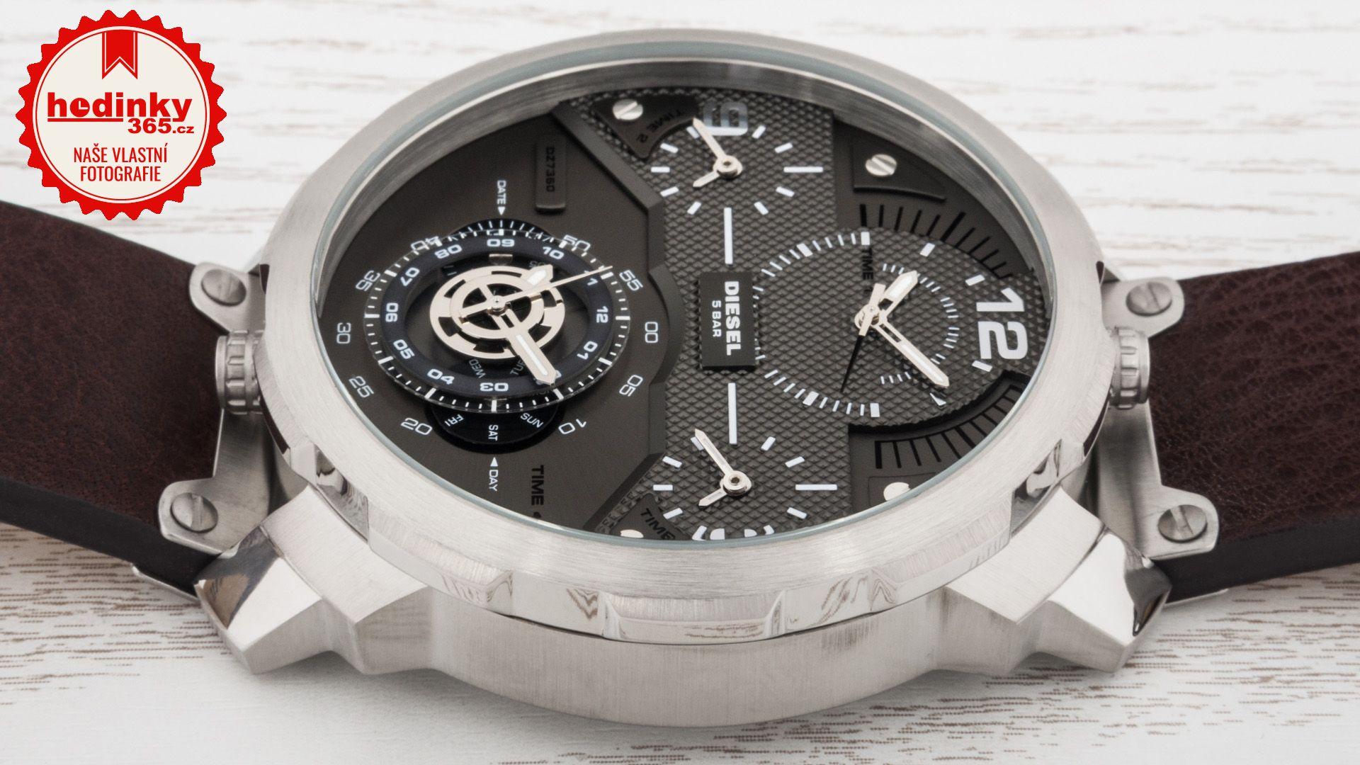05d70ef0ff8d Diesel Machinus DZ 7360. Pánske hodinky - kožený remienok