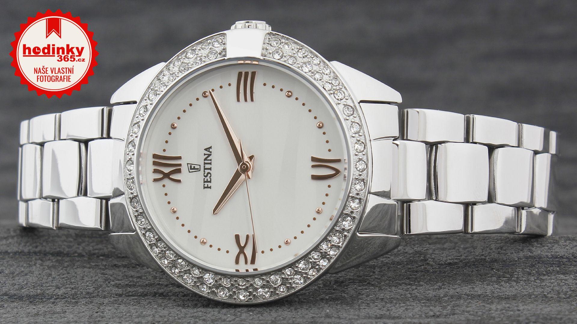 93e334bc686f Festina Mademoiselle 16919 1. Dámske hodinky - ocelový remienok