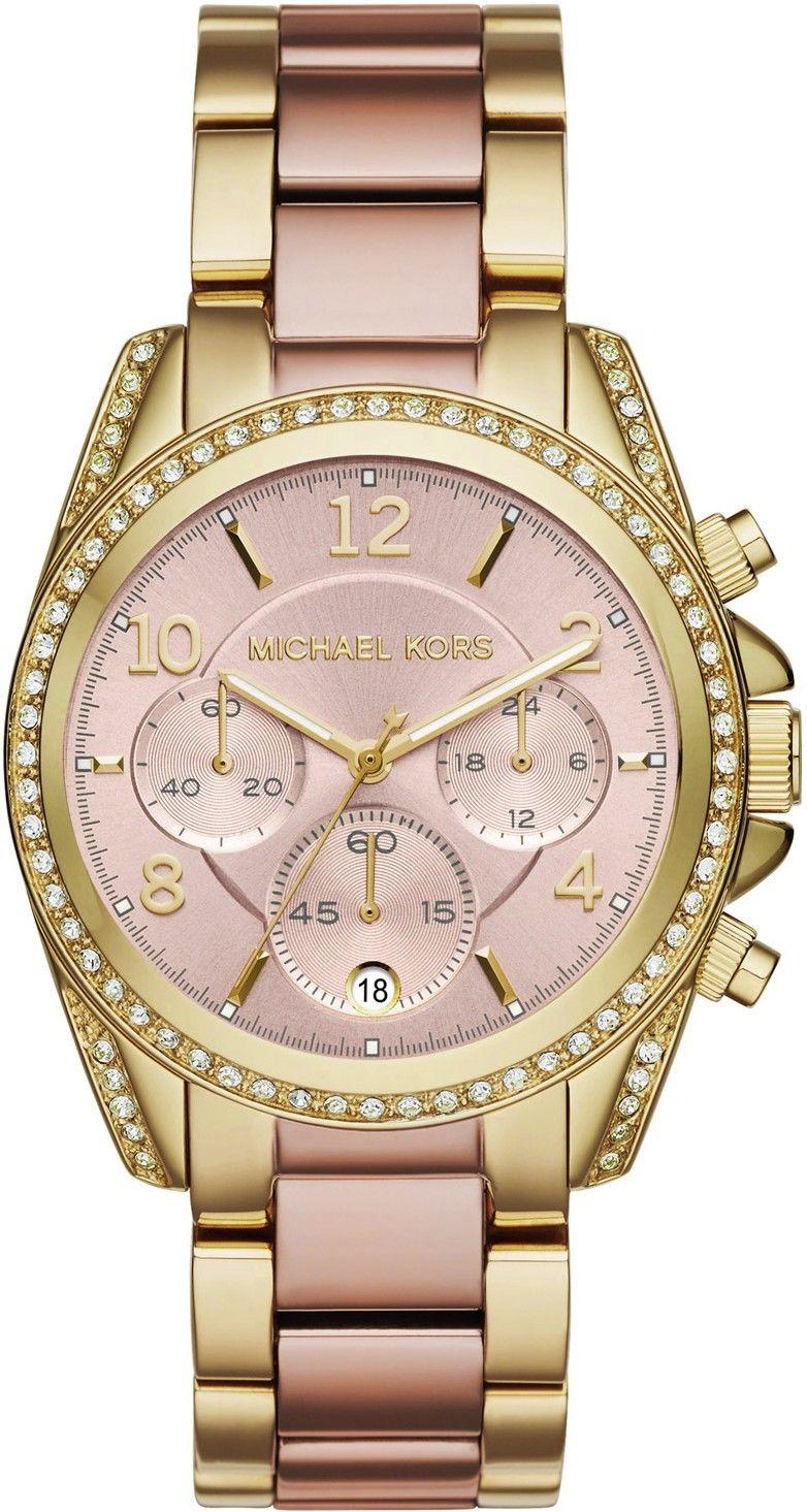 37c89a6a0e Michael Kors MK 6316. Dámske hodinky - ocelový remienok