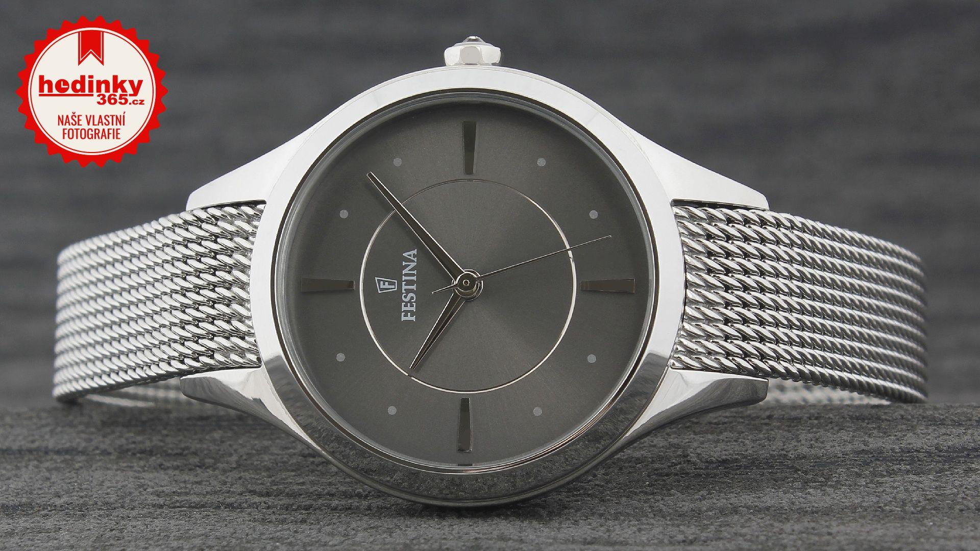 818cf3392 Festina Mademoiselle 16958/2. Dámske hodinky - ocelový remienok, ocel  puzdro, minerálne sklíčko. Všetky technické parametre nájdete nižšie