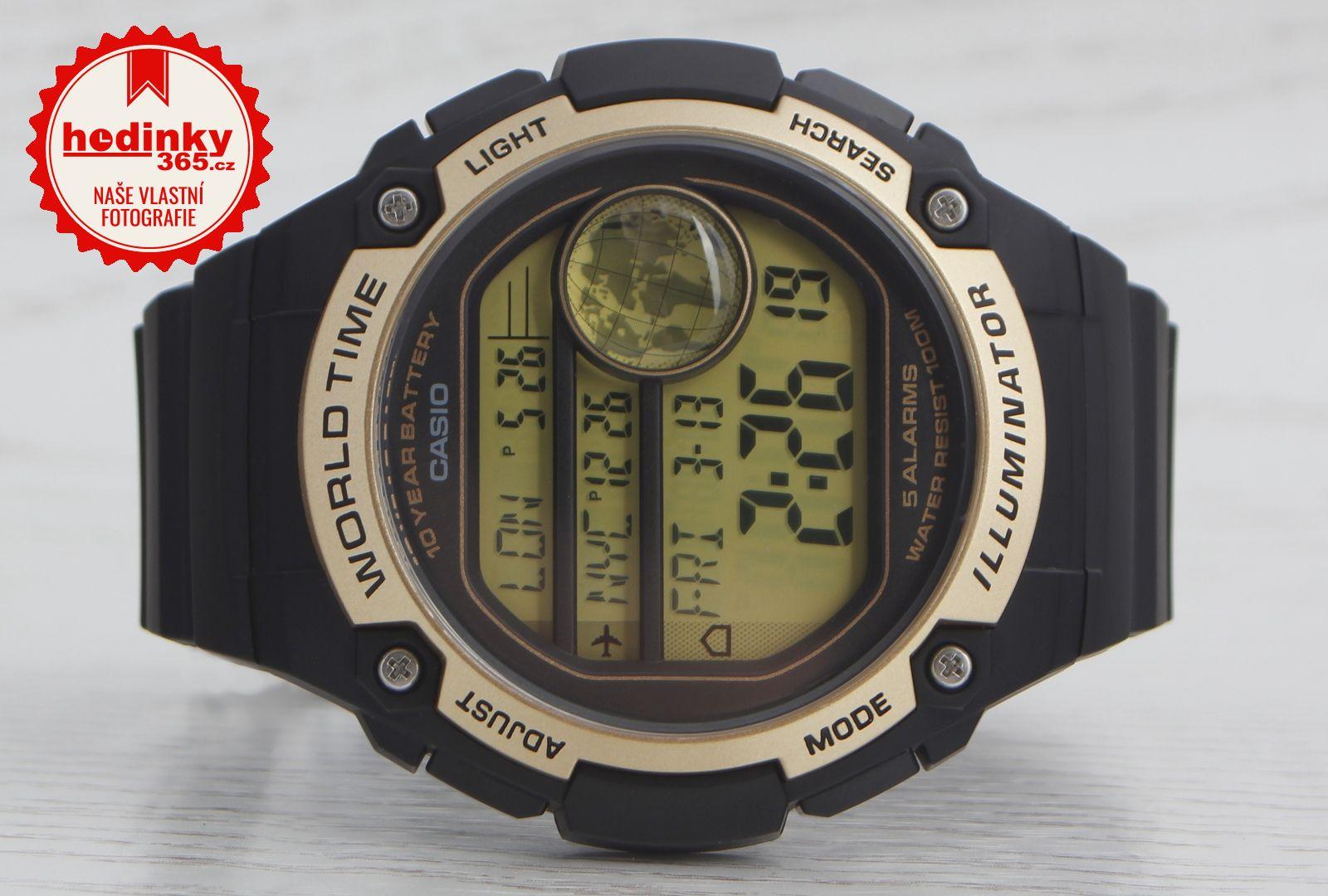 Casio Collection AE-3000W-9AVEF. Pánske hodinky - živicový remienok 9dc8b779a0c