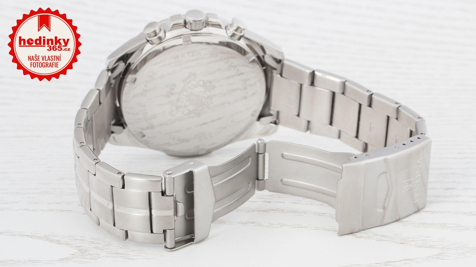 94f18a853 Festina Chronograph 6865/1. Pánske hodinky - ocelový remienok, ocel puzdro,  minerálne sklíčko. Všetky technické parametre nájdete nižšie