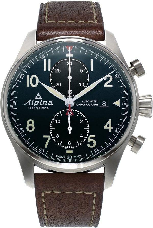 Alpina Startimer Pilot Automatic Chrono AL-725N4S6  a2d22d923ce