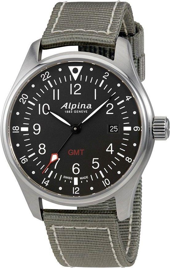 Alpina Startimer Pilot Quartz AL-247B4S6  cfe7365f43