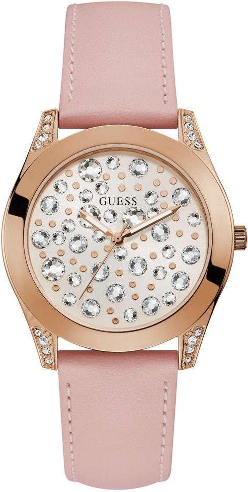 b317761d6 Dámske hodinky - kožený remienok, ocel puzdro, minerálne sklíčko. Všetky  technické parametre nájdete nižšie