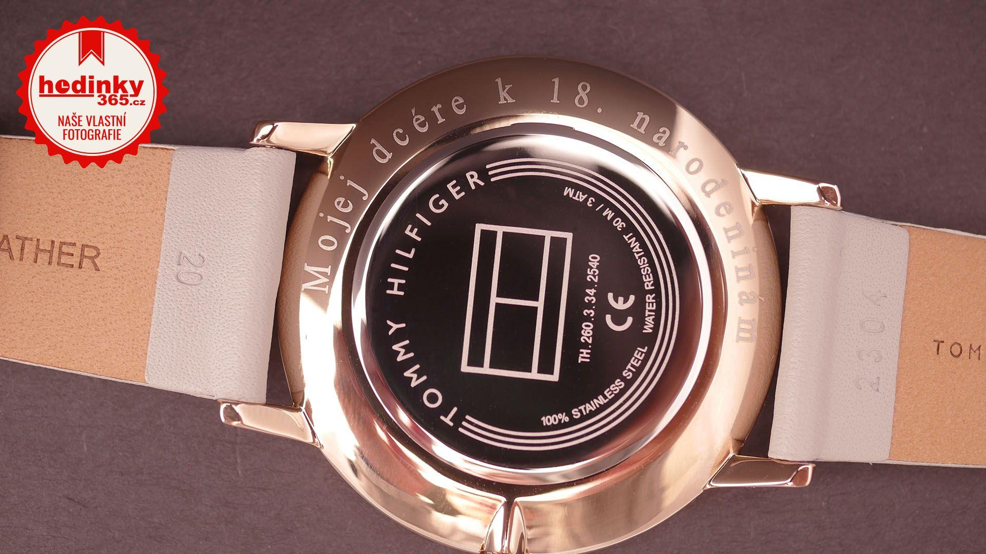620b9f8ff Gravírování hodinek (vyrytí věnování, textu, nebo firemního loga ...