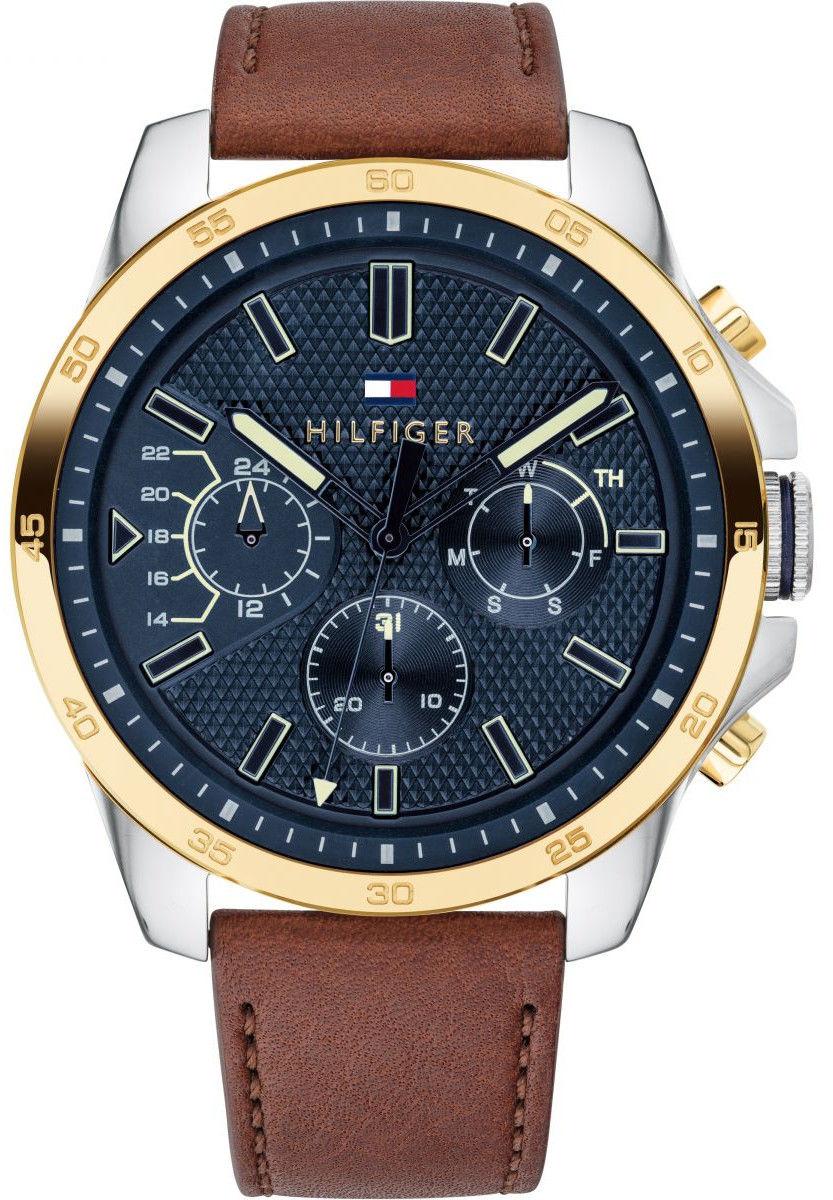 Tommy Hilfiger 1791561. Pánske hodinky - kožený remienok bb7e51df538