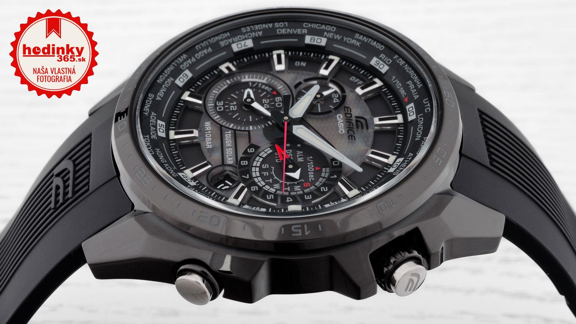 Pánske hodinky - živicový remienok 5f1bd4eda4