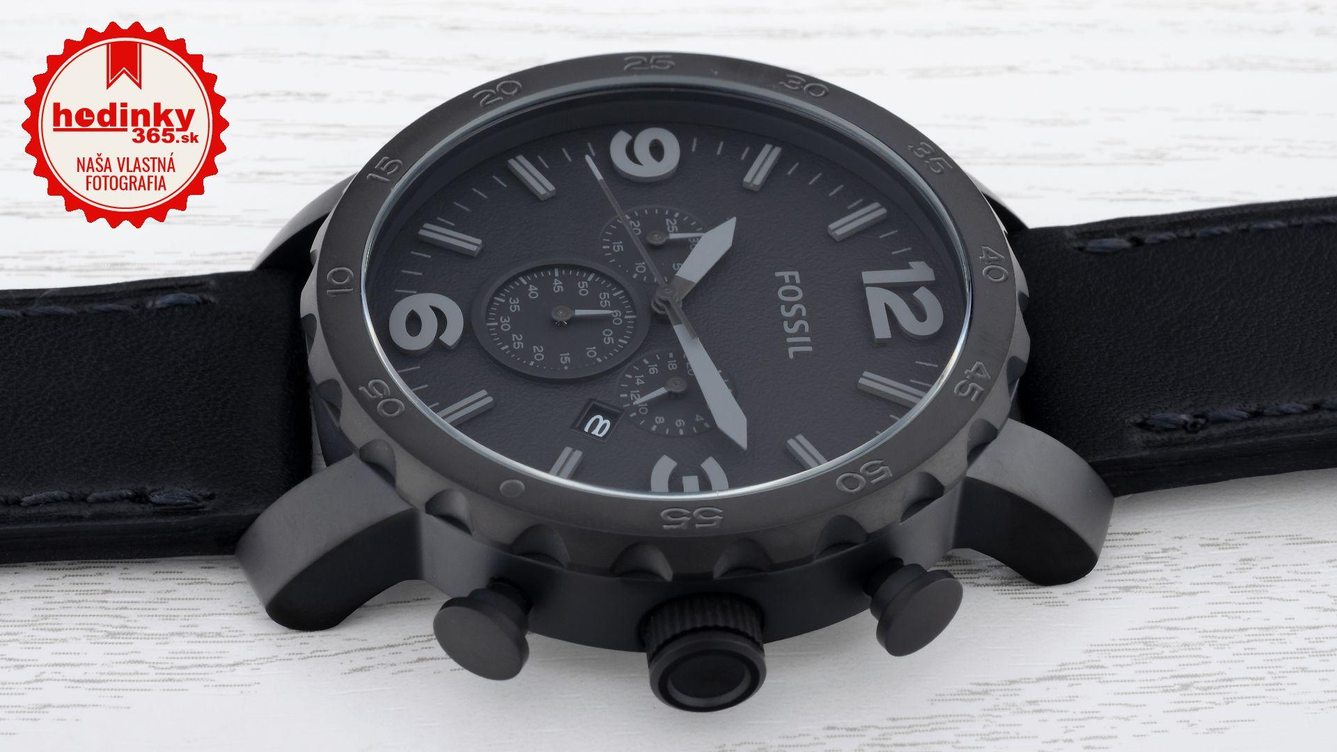 Pánske hodinky - kožený remienok 4b54f61fa50